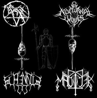 Evil Oath & Nocturnal Wolves & Schennis & Mauler - Master's Of NLBM (2012)