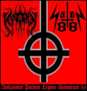 Cryptorsatan & Satan 88 - Antizionist Pactum Legion Satanicum 88 (2016)