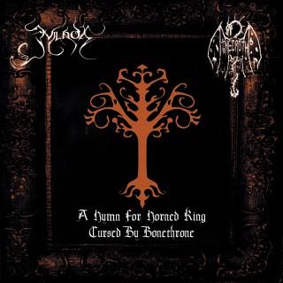 Theoroth & Evilnox - A Hymn For Horned King/Cursed By Bonethrone [Split] (2016)
