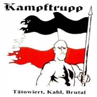 Kampftrupp - Tätowiert, Kahl, Brutal (1998)