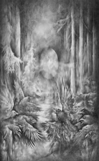 Starlit Woods - Zamarznięte Cienie Nocy [Demo] (2016)