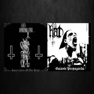 Anti... & Hat - Resurrection of the Beast - Satanic Propaganda [Split] (2010)